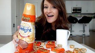 Reese's Peanut Butter Cup Creamer TASTE TEST! 😱