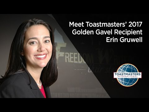 Erin Gruwell, 2017 Golden Gavel award recipient