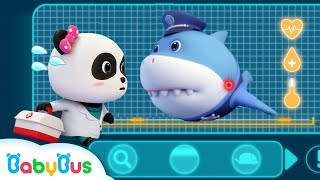 *NEW* Super Panda Rescues Police Shark | Super Rescue Team 8 | Baby Shark | Panda Cartoon | BabyBus