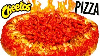 FLAMIN' HOT CHEETOS PIZZA DIY - How To Make It!