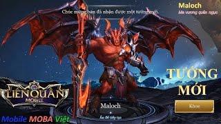 Liên quân mobile tướng mới: Maloch - Ma vương quản ngục (Mua và Test luôn cho nóng)