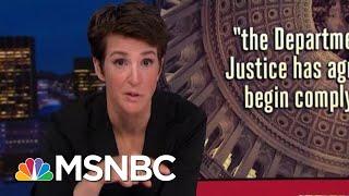 Gears Begin To Turn On Congress Follow-Through On Mueller Report | Rachel Maddow | MSNBC