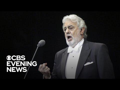 Retired opera singer details alleged harassment by Plácido Domingo