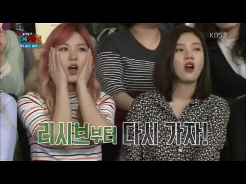160503 Our Neighborhood Variety Sports - Red Velvet's Reactions Cut