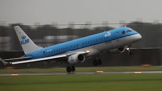STORM!! SCHIPHOL, ROCKING APPROACHES AND GO AROUNDS