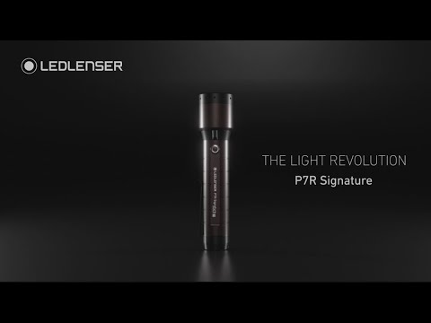 Ledlenser® P7R SIGNATURE Rechargeable Torch