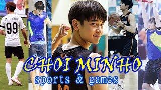 CHOI MINHO - WINNING AT SPORTS & GAMES (legendado/ENG SUBS)