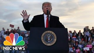 Donald Trump Talks Border, Praises Congressman Who Assaulted Reporter, At Campaign Rally | NBC News