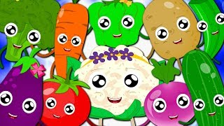 Vegetables Song | Learn Vegetables For Kids | Baby Songs For Children By Bud Bud Buddies