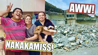 UMUWI AKO SA BAHAY NAMIN SA PARANAQUE (TULOY NA ANG DEMOLITION!!!) | LC VLOGS #361