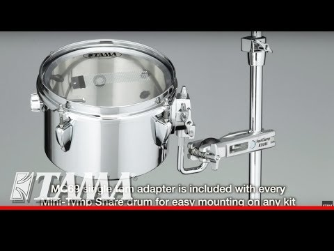 "Tama Drums Tama Mini-Tymp 8"" x 5"" Snare Timbale Combo Drum"