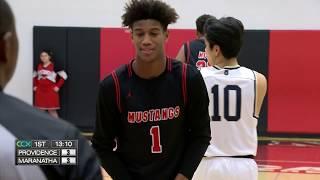 Providence vs. Maranatha Boys High School Basketball