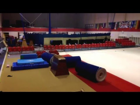 Yate International Gymnastics Centre Timelapse