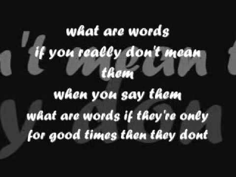 Baixar What Are Words Chris Medina Lyrics/Karaoke