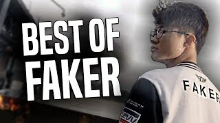 BEST OF FAKER MONTAGE - BEST PLAYER in The WORLD! (Best of SKT Faker Streams, Worlds, LCK 2017)
