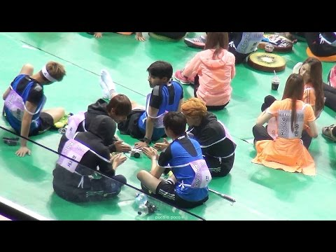 150810 아육대 방탄소년단 ISAC BTS 01 playing ABC game