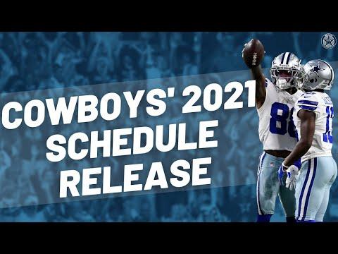 Dallas Cowboy's 2021 Schedule Release | Blogging the Boys