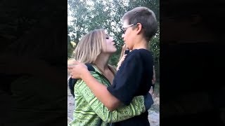 best friends have a very awkward first kiss...
