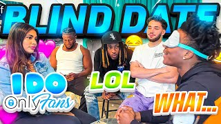 Adin Ross & Zias put iShowSpeed on a Blind Date With Onlyfans Baddie Mia Francis... **GONE WRONG**