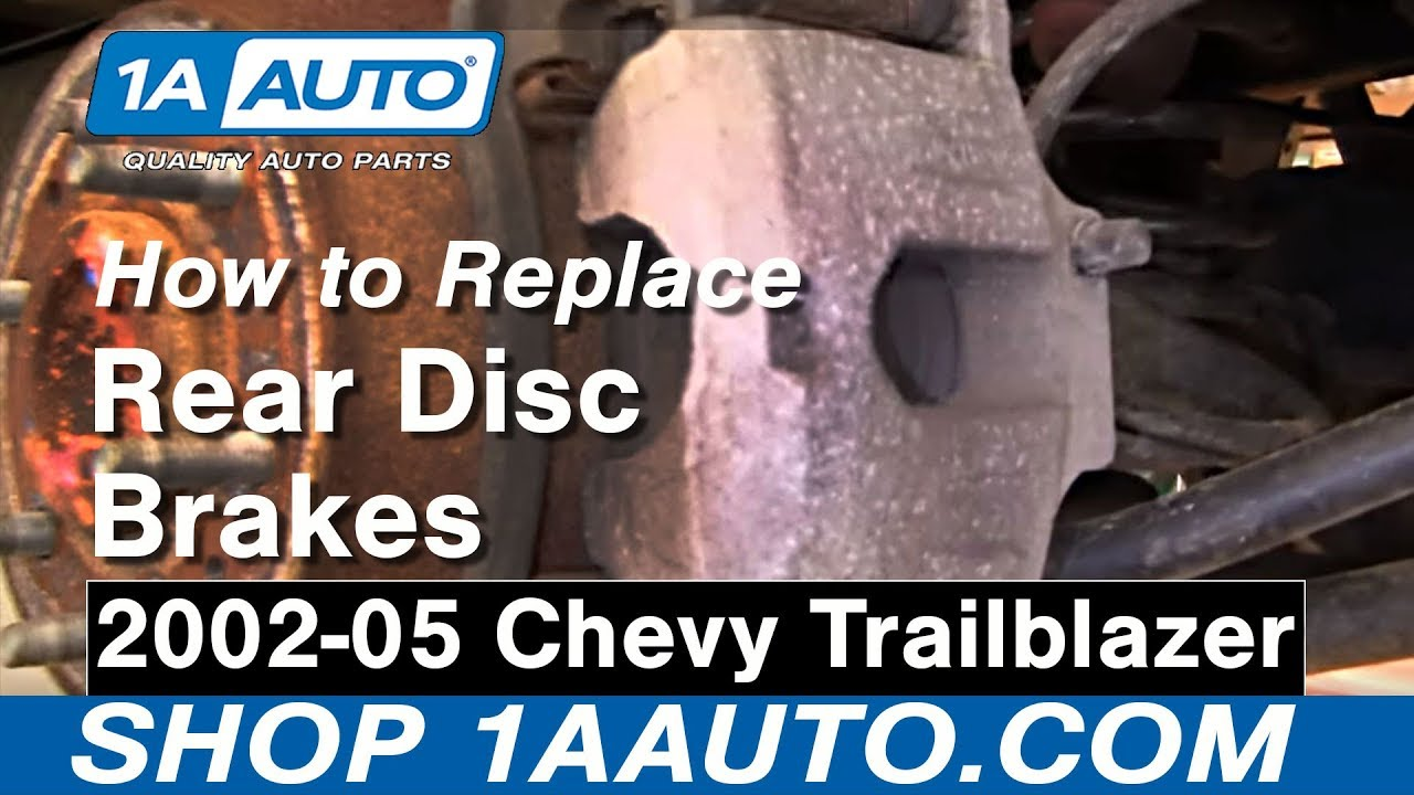 How To Install Repair Replace Rear Disc Brakes Chevy ...