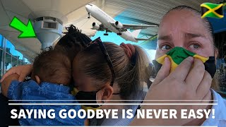 """Leaving My Husband Behind In Jamaica """"Very Emotional"""" My Worst Travel Experience! LDR STRUGGLE"""