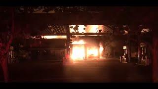 TUBBS FIRESTORM: Raw Berkeley Fire Dept. video shows desperate battle with Tubbs Fire