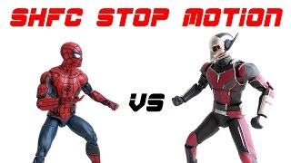 Stop Motion: Spider-Man vs Ant-Man - SHFC Ep 4