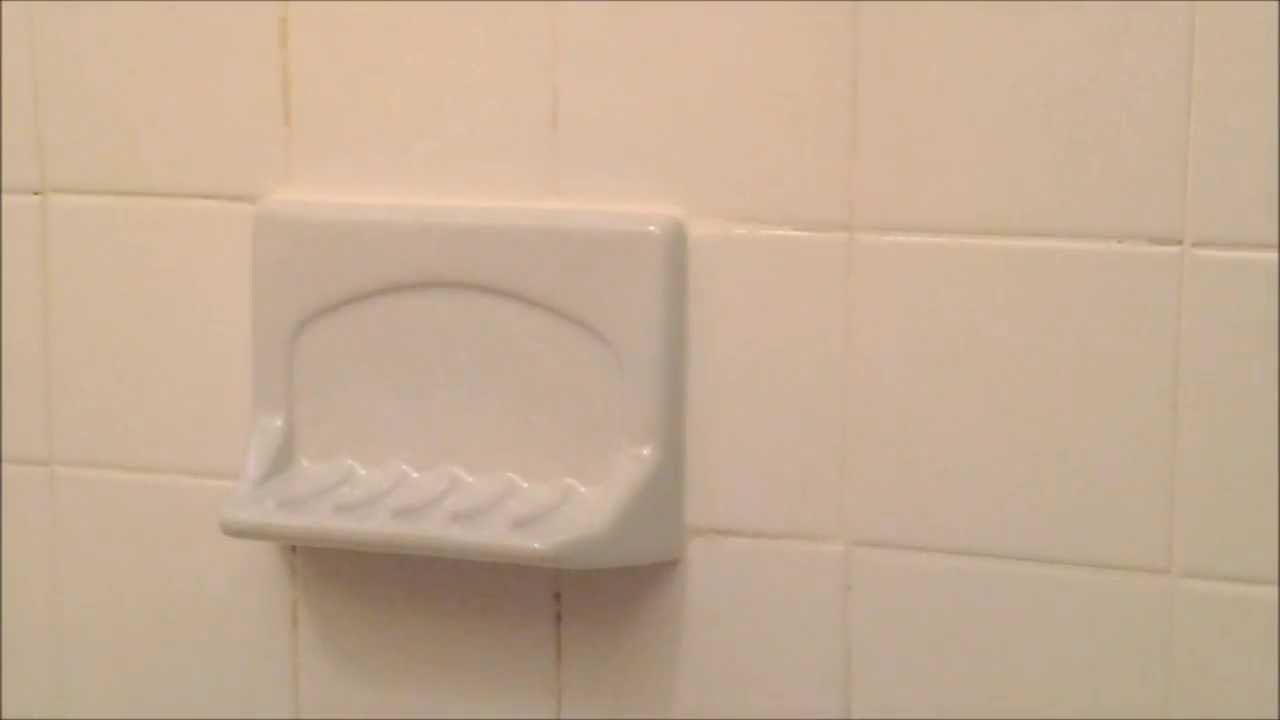 How To Install A Ceramic Soap Dish Youtube