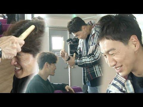 이광수, 김종국 아찔하게 만드는 손목 스냅 '두개골 강타' 《Running Man》런닝맨 EP531
