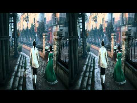 Assassins Creed Unity Android VR Samsung Galaxy S4 Google Cardboard PC TriDef Trinus Gyre 720p