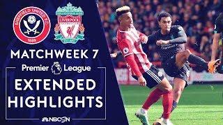 Sheffield United v. Liverpool | PREMIER LEAGUE HIGHLIGHTS | 9/28/19 | NBC Sports