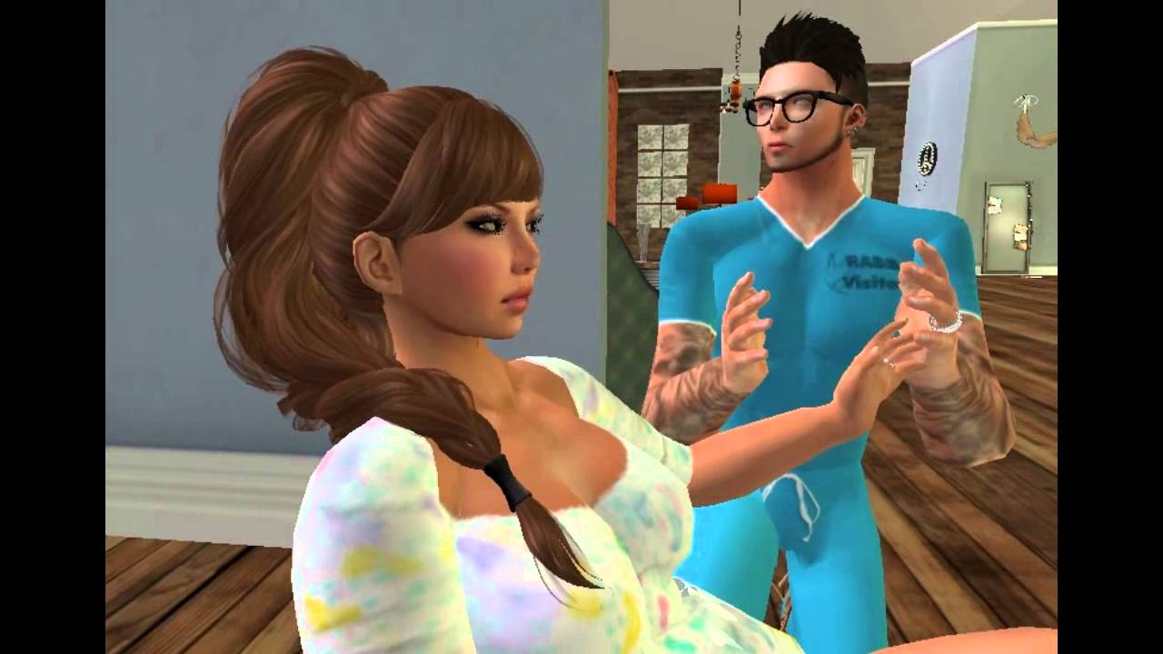 Second Life Twin Baby Birthing for Carmelo and Peque Morales - YouTube