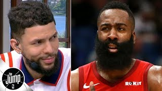 Austin Rivers defends James Harden: 'He's doing what he's supposed to do' | The Jump