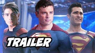 The Flash Crisis On Infinite Earths Teaser Trailer - Superman Easter Eggs Breakdown