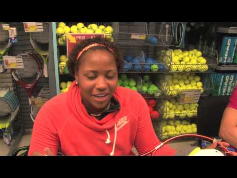 Taylor Townsend Racquet Giveaway