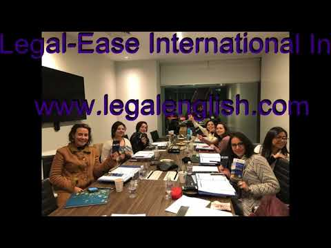 Dena Falken Presenting Legal-English Seminar With Legal-Ease International Inc