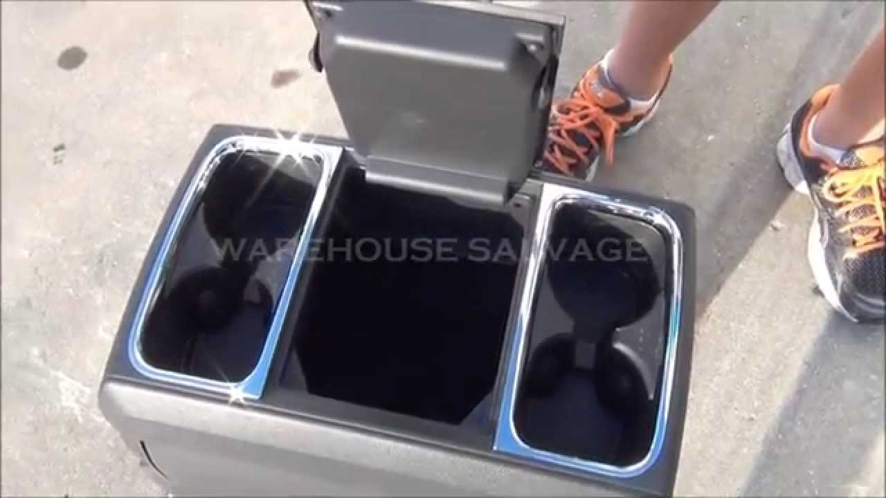Used Dodge Caravan >> DODGE CARAVAN TOWN & COUNTRY CENTER CONSOLE DRINK TRAY BLACK - YouTube