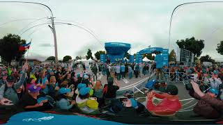 Amgen Tour of California 2019 stage 4 ceremony in Morro Bay