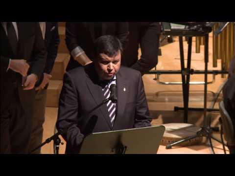 Discursos del Concierto Bankia homenaje a las escuelas de música 2015