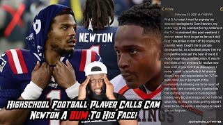 High School Kid Calls Cam Newton A BUM Straight to His Face | Chiseled Adonis