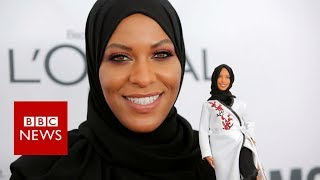 first Barbie with a hijab - BBC News