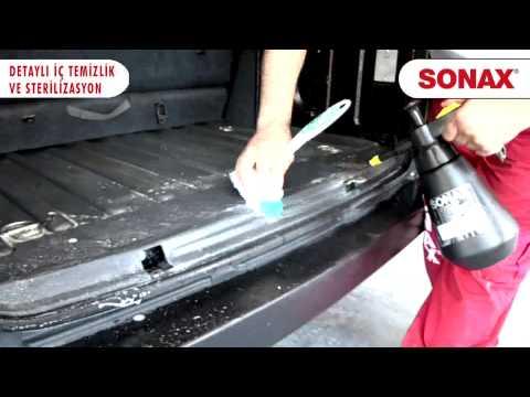 SONAX Detaylı İç Temizlik ve Sterilizasyon