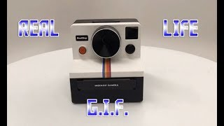 THIS CAMERA PRINTS REAL LIFE GIFs!!! WATCH AND HOLD A GIF.