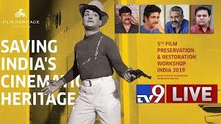 Chiranjeevi LIVE @ 5th Film Preservation & Restoration..