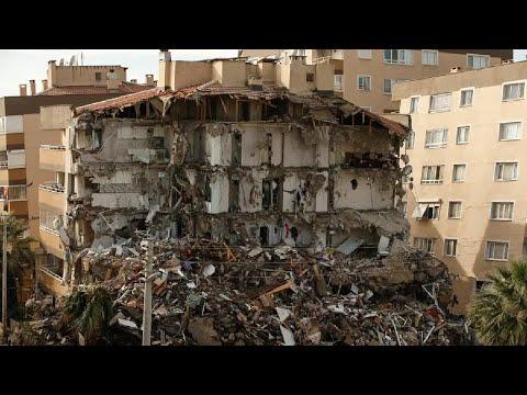 M7.0 Earthquake Hits Turkey & Greece - Oct. 30, 2020 (Part 2) deprem σεισμός