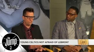 Young Celtics not afraid of LeBron James? | The Jump | ESPN