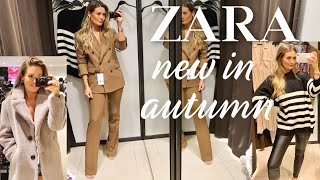 NEW IN ZARA   COME SHOPPING WITH ME   AUTUMN FALL HAUL
