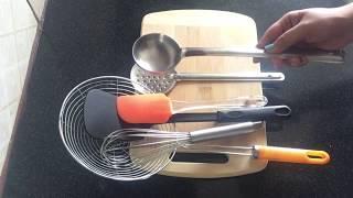 Kitchen essentials for beginners| Basic kitchen tools & utensils must have | Manisha Pranay
