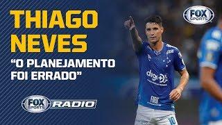 'EU ESTOU SENDO BODE EXPIATÓRIO DO REBAIXAMENTO': Thiago Neves participa do