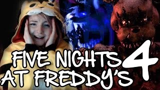 The grave mistake of playing Five nights at Freddy's 4 | HORROR GAME